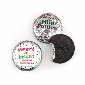Personalized Bonnie Marcus Very Merry Christmas Pearson's Mint Patties
