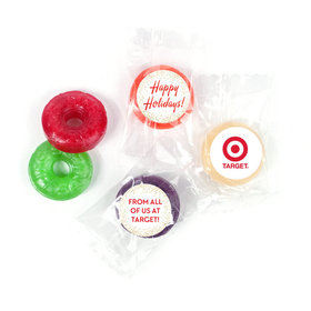 Personalized Bonnie Marcus Christmas Holiday Celebration LifeSavers 5 Flavor Hard Candy