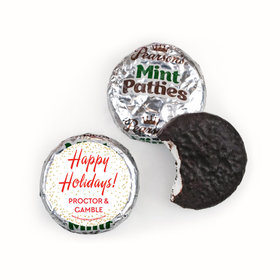 Personalized Bonnie Marcus Holiday Celebration Christmas Pearson's Mint Patties