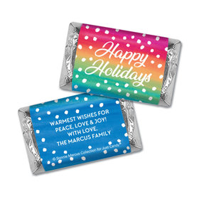 Personalized Bonnie Marcus Holiday Magic Christmas Hershey's Miniatures