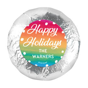 """Personalized Bonnie Marcus Holiday Magic Christmas 1.25"""" Stickers (48 Stickers)"""