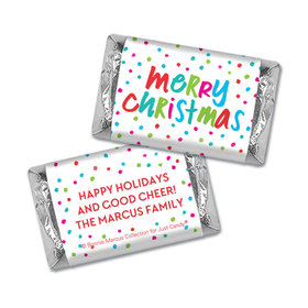Personalized Bonnie Marcus Polkadot Party Christmas Hershey's Miniatures