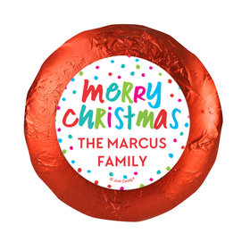 Personalized Bonnie Marcus Polkadot Party Christmas Chocolate Covered Oreos