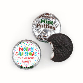 Personalized Bonnie Marcus Polkadot Party Christmas Pearson's Mint Patties