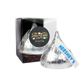 Personalized Peace on Earth 12oz Giant Hershey's Kiss