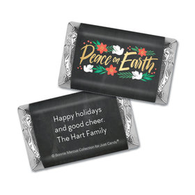 Personalized Bonnie Marcus Hershey's Miniatures - Christmas Peace on Earth