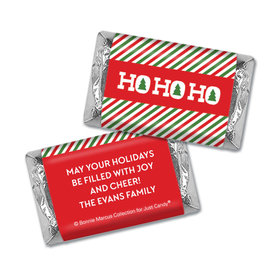 Personalized Bonnie Marcus Mini Wrappers Only - Christmas Ho Ho Ho's