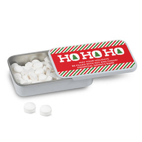 Personalized Bonnie Marcus Christmas Ho Ho Ho's Mint Tin (12 Pack)