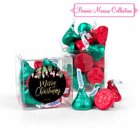 Bonnie Marcus Merry Christmas Ornaments Clear Gift Box