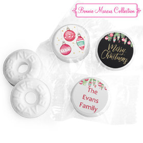 Personalized Life Savers Mints - Christmas Ornate Ornaments