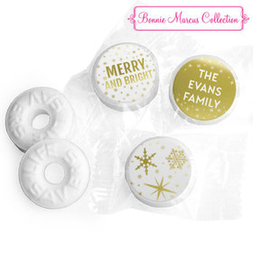 Personalized Life Savers Mints - Christmas Glitter