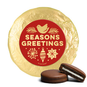 Personalized Chocolate Covered Oreos - Christmas Season's Greetings