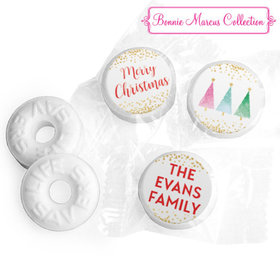 Personalized Life Savers Mints - Christmas Shimmering Pines