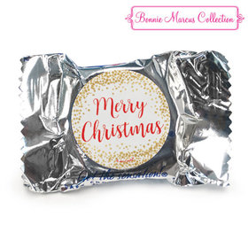Personalized York Peppermint Patties - Christmas Shimmering Pines