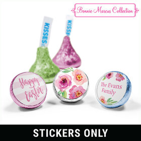 "Bonnie Marcus Collection Easter Pink Flowers 3/4"" Sticker (108 Stickers)"