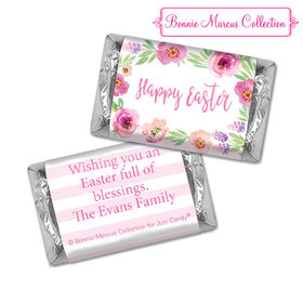 Bonnie Marcus Collection Easter Pink Flowers Hershey's Miniatures