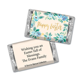 Bonnie Marcus Collection Easter Blue Flowers Mini Wrappers