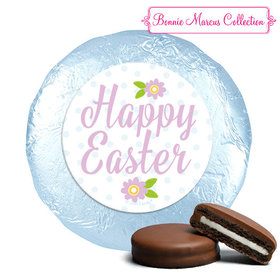 Bonnie Marcus Collection Easter Purple Flowers Milk Chocolate Covered Oreos
