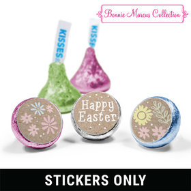 "Bonnie Marcus Collection Easter Pastel Flowers 3/4"" Sticker (108 Stickers)"