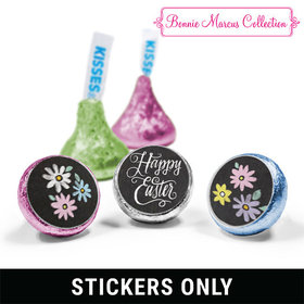 "Bonnie Marcus Collection Happy Easter Script 3/4"" Sticker (108 Stickers)"