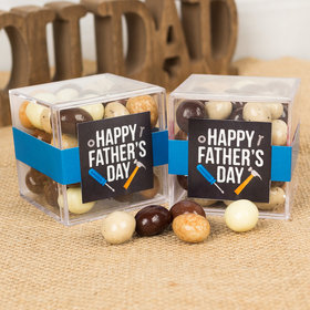 Father's Day Tools JUST CANDY® favor cube with Premium New York Espresso Beans