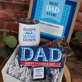 Plaid Dad Father's Day Gift Box