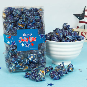 4th of July Fireworks Candy Coated Popcorn 8 oz Bags
