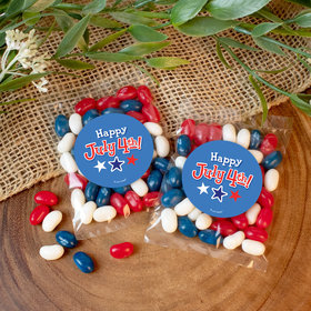 Happy 4th of July Candy Bags with Jelly Belly Jelly Beans