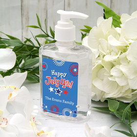 Personalized Independence Day Fireworks Hand Sanitizer - 8 fl. Oz.