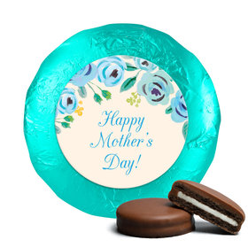 Here's Something Blue Mother's Day Milk Chocolate Covered Oreo Assembled (24 Pack)