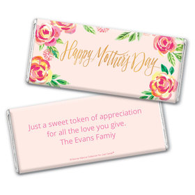 Bonnie Marcus Collection Mother's Day Personalized Chocolate Bar Wrappers