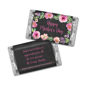 Floral Embrace Mother's Day Personalized Miniature Wrappers