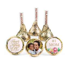 Personalized Bonnie Marcus Mother's Day Stripes Hershey's Kisses (50 pack)