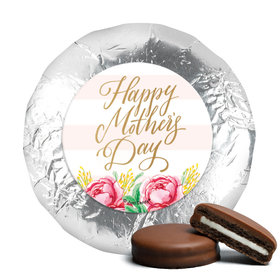Milk Chocolate Covered Oreos - Bonnie Marcus Mother's Day Pink Flowers