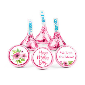 """Personalized 3/4"""" Stickers - Bonnie Marcus Mother's Day Floral Mother's Day (108 Stickers)"""