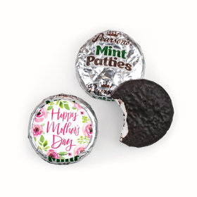 Personalized Pearson's Mint Patties - Bonnie Marcus Mother's Day Pink Floral