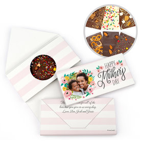 Personalized Photo Bonnie Marcus Mother's Day Gourmet Infused Belgian Chocolate Bars (3.5oz)