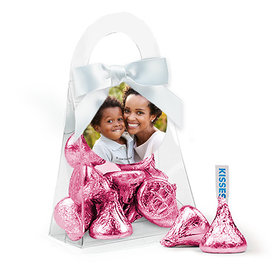 Personalized Mother's Day Photo Hershey's Kisses Purse and Gift Tag