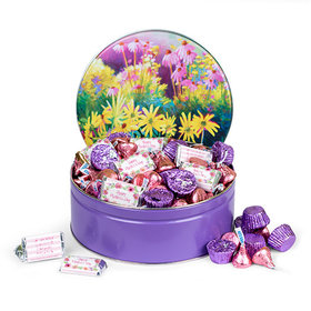 Personalized Mother's Day Colors of Spring Candy 2lb Tin