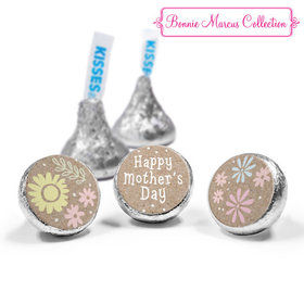 Mother's Day Pastel Flowers Theme Hershey's Kisses (50 Pack)
