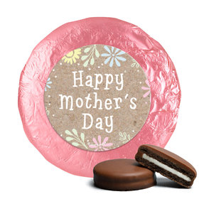 Bonnie Marcus Collection Mother's Day Pastel Flowers Theme Milk Chocolate Covered Oreos