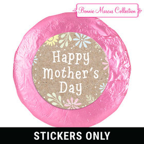 "Bonnie Marcus Collection Mother's Day Pastel Flowers Theme 1.25"" Stickers (48 Stickers)"