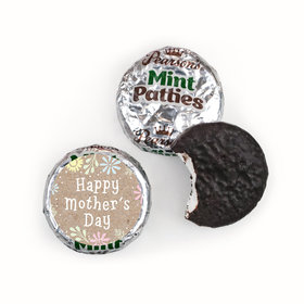 Bonnie Marcus Collection Mother's Day Pastel Flowers Theme Pearson's Mint Patties