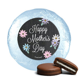 Bonnie Marcus Collection Mother's Day Script Theme Milk Chocolate Covered Oreos (24 Pack)