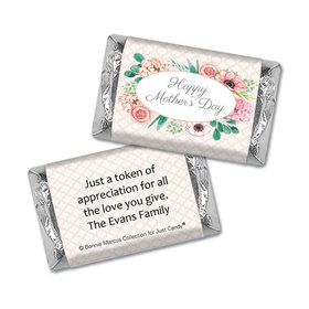 Personalized Bonnie Marcus Collection Mother's Day Painted Flowers Hershey's Miniatures