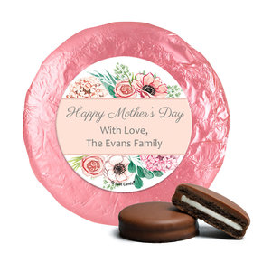 Bonnie Marcus Collection Mother's Day Painted Flowers Milk Chocolate Covered Oreos (24 Pack)