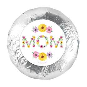 1.25in Stickers - Bonnie Marcus Mother's Day Mom in Flowers (48 Stickers)