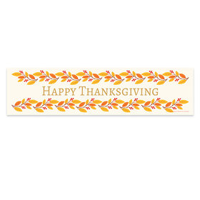 Bonnie Marcus Thanksgiving Give Thanks 5 Ft. Banner