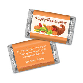Personalized Bonnie Marcus Cornucopia Thanksgiving Mini Wrappers Only