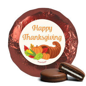 Personalized Bonnie Marcus Cornucopia Thanksgiving Chocolate Covered Oreos (24 Pack)
